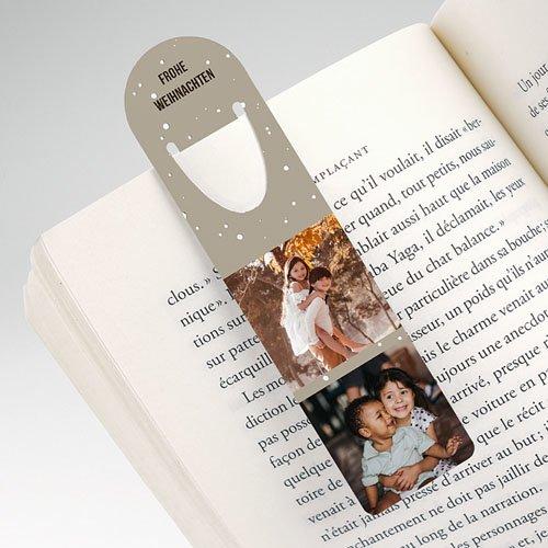 Personalisierte Lesezeichen Büchermensch pas cher