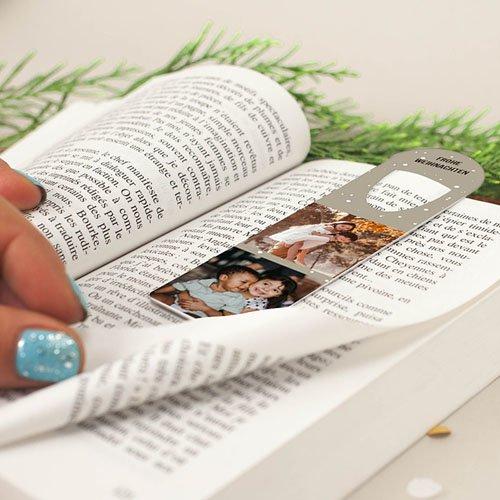 Personalisierte Lesezeichen Büchermensch gratuit