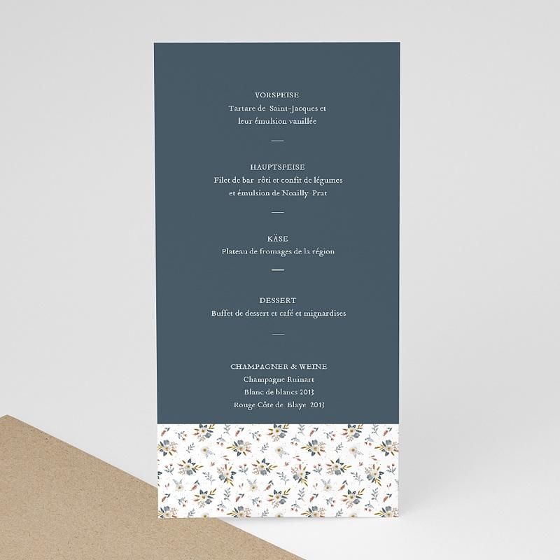 Menükarten Hochzeit Millefiori