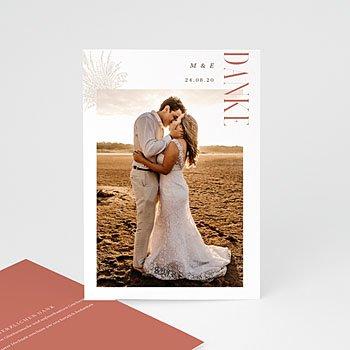 Dankeskarten Hochzeit Landhochzeit Perfekte Union