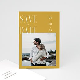 Save The Date  Perfekte Union