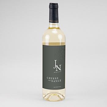 Flaschenetiketten Wein Schöne Pflanzen 2