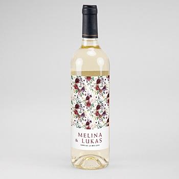Flaschenetiketten Wein Rock'n Gold