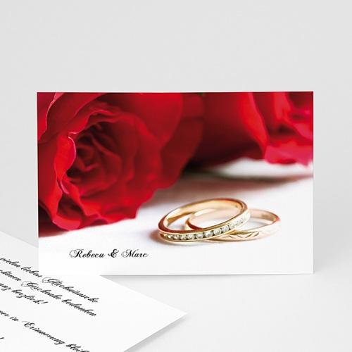 Archivieren - Ehering und rote Rosen 7883