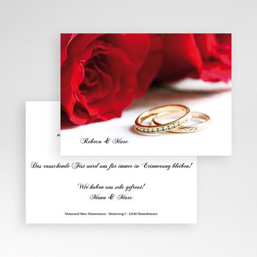 Archivieren - Ehering und rote Rosen 7884 test