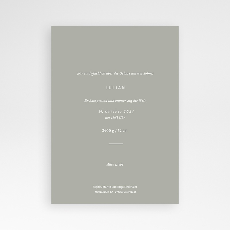 Geburtskarten für Mädchen Mandelbaum pas cher
