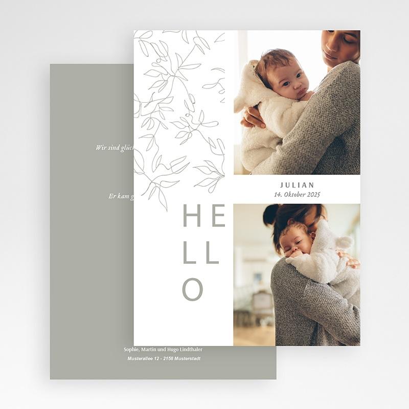 Geburtskarten für Mädchen Mandelbaum gratuit