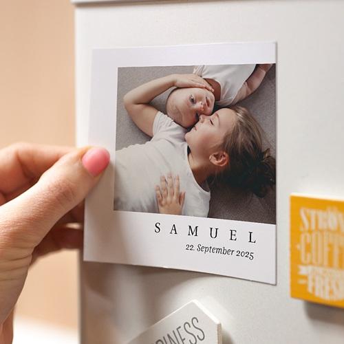 Magnet Geburtskarten Original Junge pas cher