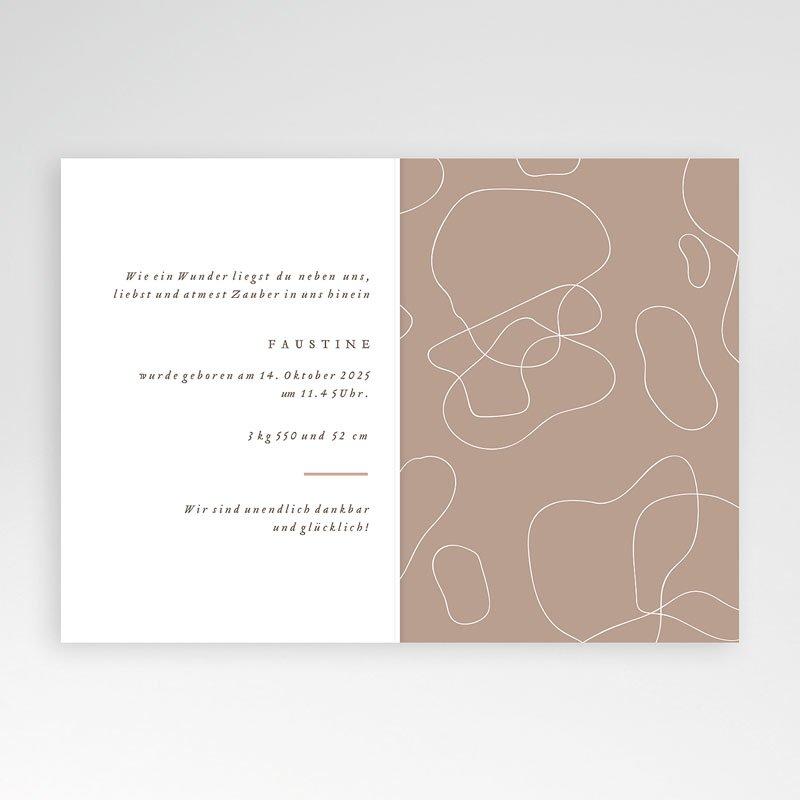 Geburtskarten für Geschwister Faustina pas cher
