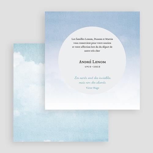 Weltlich Dankeskarten Trauer In Ewigkeit gratuit