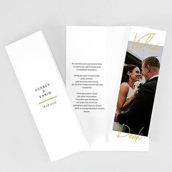 Stilvolle Danksagung Hochzeit Love Letters