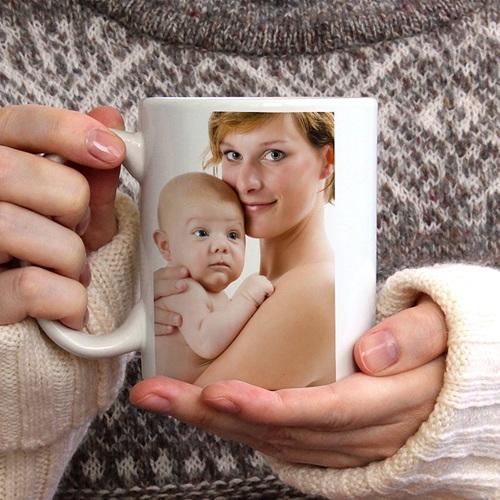 Personalisierte Fototassen Milchkaffee gratuit