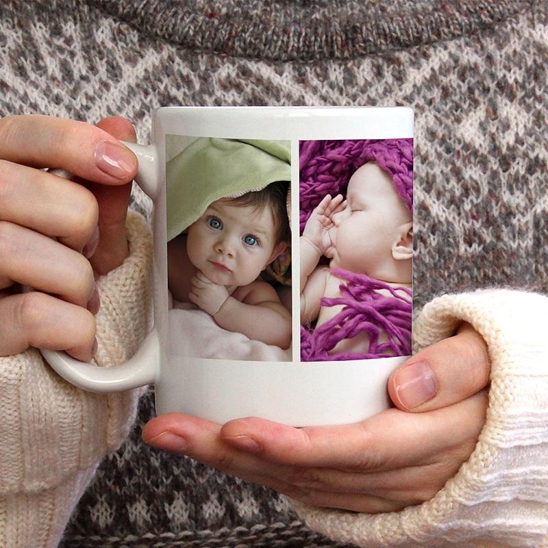 Personalisierte Fototassen Mini Fotoserie gratuit