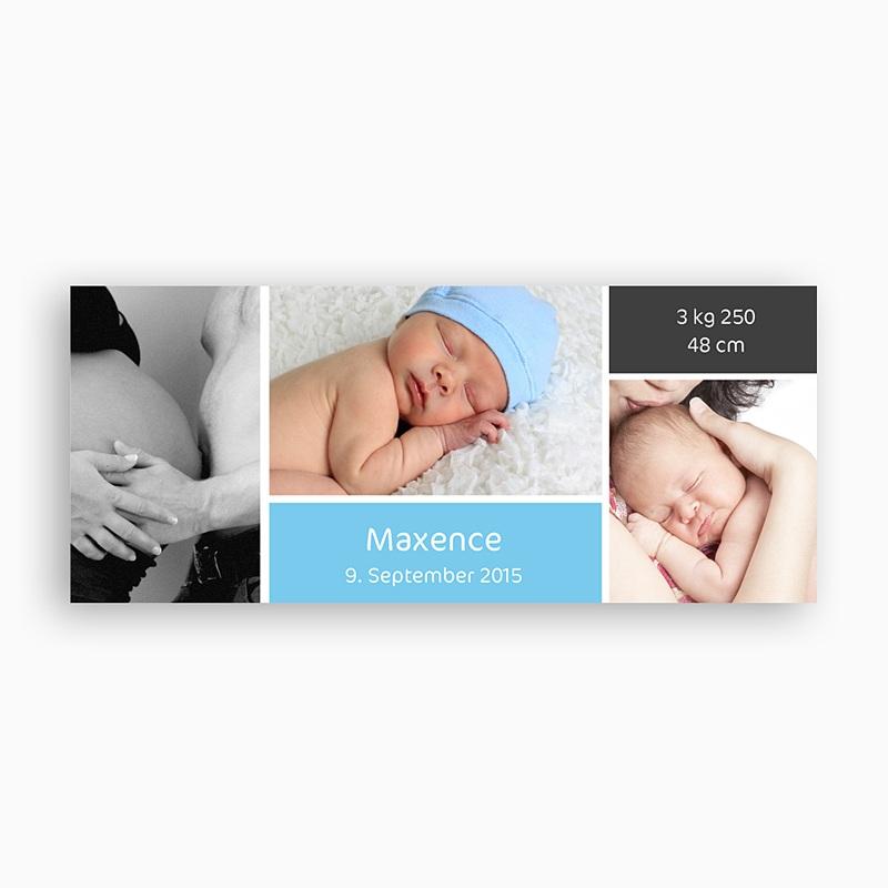 Personalisierte Fototassen Drei Babyfotos pas cher