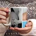 Personalisierte Fototassen Drei Babyfotos gratuit