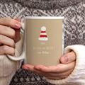 Personalisierte Fototassen Weihnachtskostüm gratuit