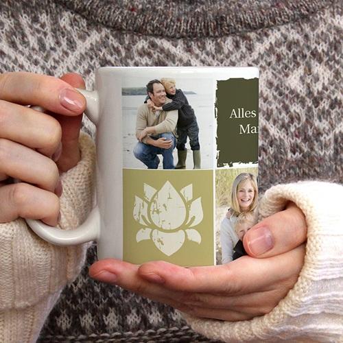 Personalisierte Fototassen Collage gratuit