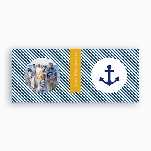 Personalisierte Fototassen Marine-Look pas cher