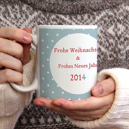 Fototassen Kleiner Weihnachtsbote gratuit