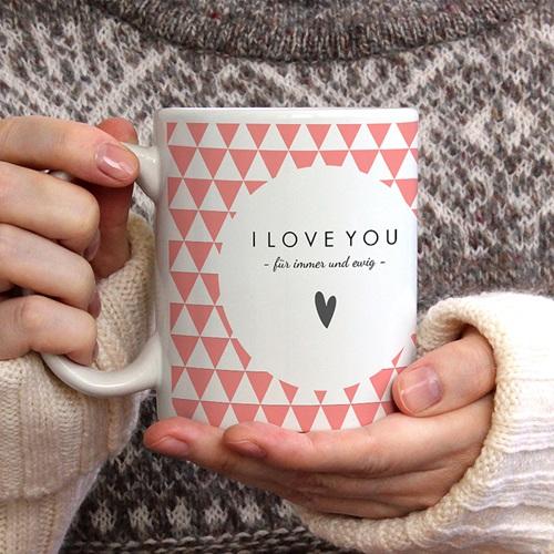 Personalisierte Fototassen My Valentin gratuit