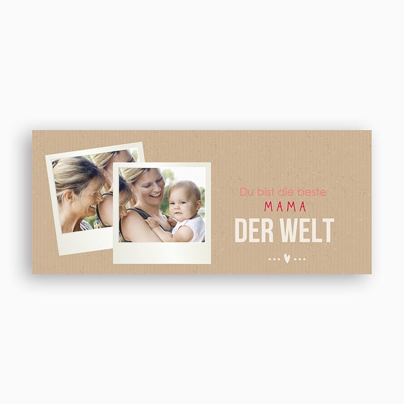 Personalisierte Fototassen Muttertag Für die beste Mama pas cher