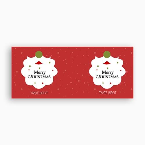 Personalisierte Fototassen Weihnachtsmannbart pas cher