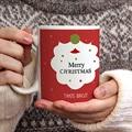 Personalisierte Fototassen Weihnachtsmannbart gratuit