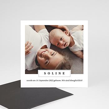 Geburtskarten mit Geschwistern Schätzchen