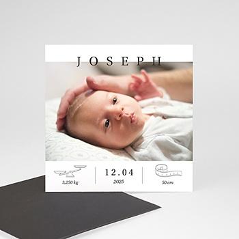 Geburtskarten Magnet Exklusiv