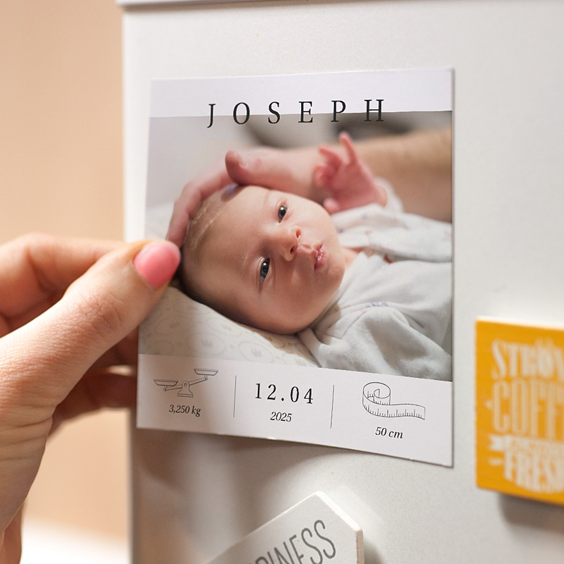 Magnet Geburtskarten Exklusiv pas cher