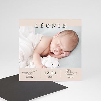 Geburtskarten Magnet kleines Wunder