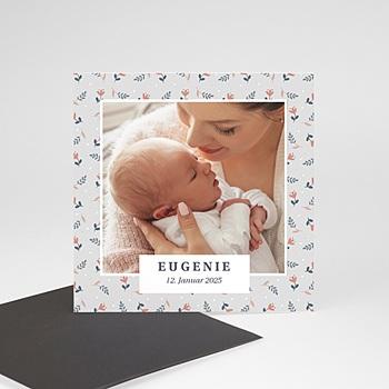 Geburtskarten Magnet Liberty Chérie