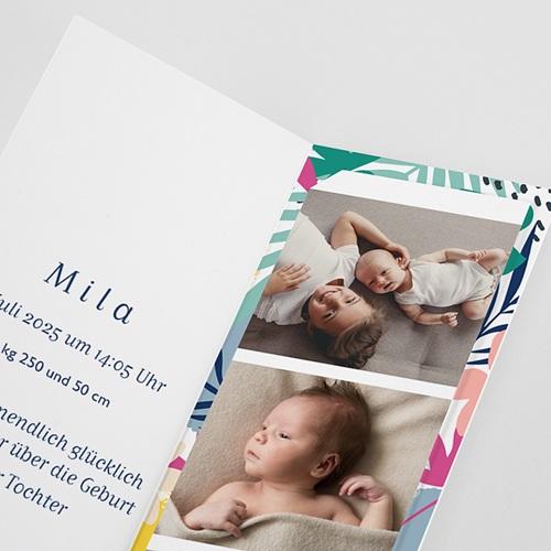 Geburtskarten für Geschwister Tropical Spirit pas cher