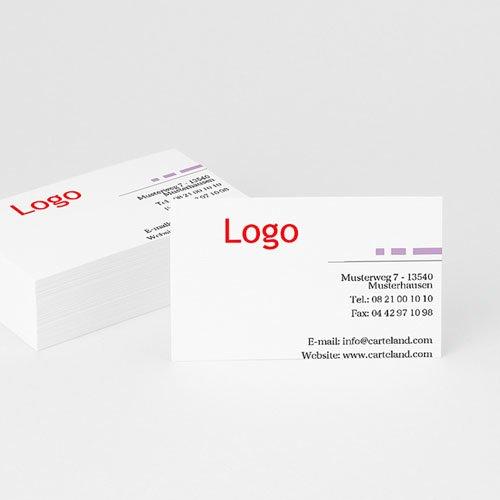 Archivieren - Visitenkarte mit Logo 8011 test