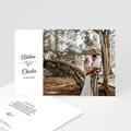 Rustikale Dankeskarten Hochzeit Romantisch Kraft