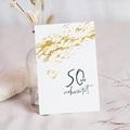 Hochzeit Einladungskarten Geburtstag Goldene Hochzeit - 50 Jahre