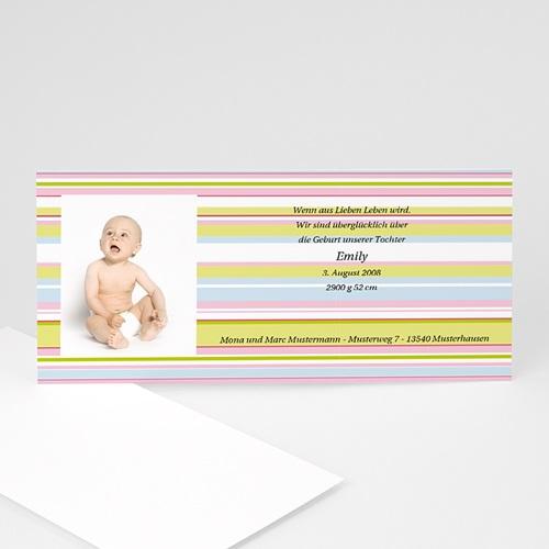 Archivieren - Babykarte pastell 8051