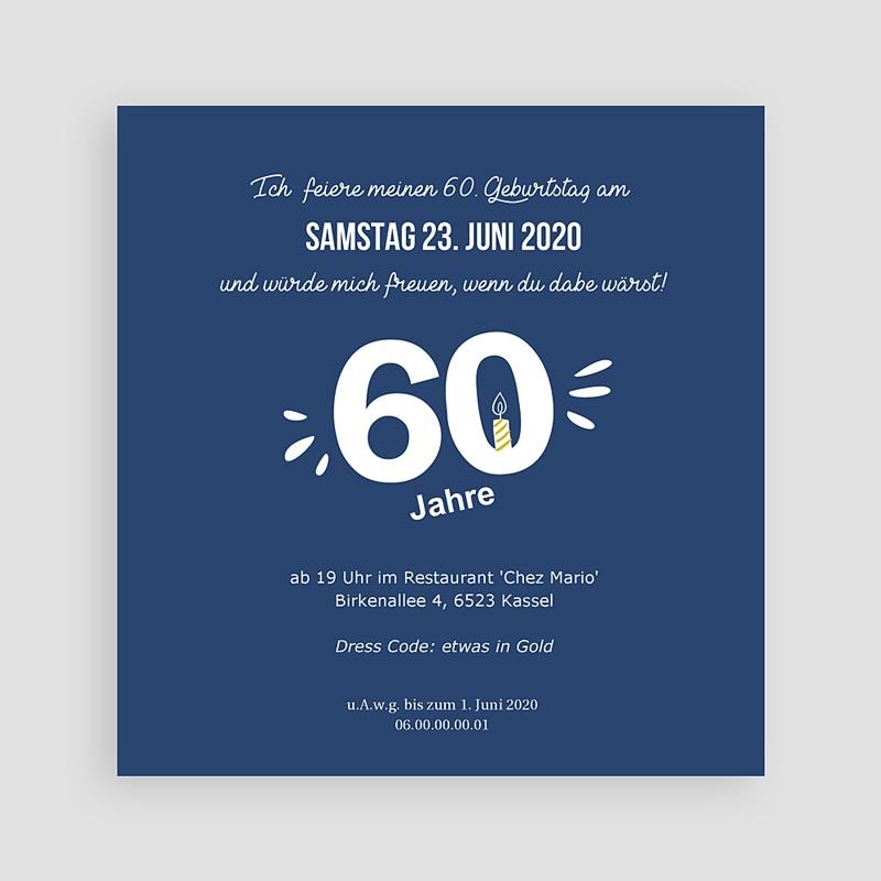 Erwachsener Einladungskarten Geburtstag 60 Jahre. Na und? pas cher