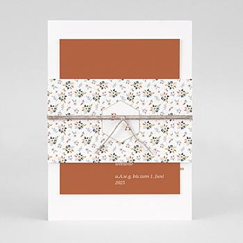 Einladungskarten Hochzeitskarten Hochzeitseinladungen Blumenstrauß Creme