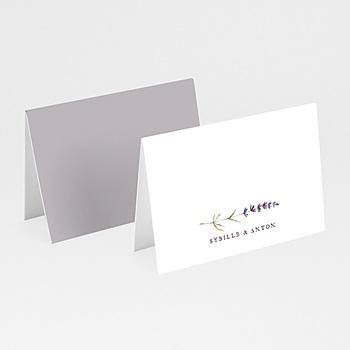 Tischkarten Hochzeit Lavendel