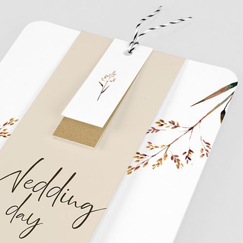 Rustikale Hochzeitseinladungen Schöne Zweige pas cher