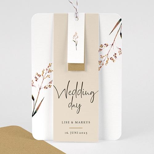 Rustikale Hochzeitseinladungen Schöne Zweige