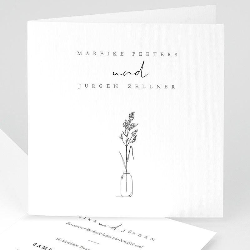 Rustikale Hochzeitseinladungen Liebeszweig