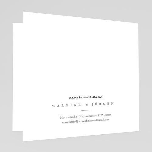 Rustikale Hochzeitseinladungen Liebeszweig gratuit