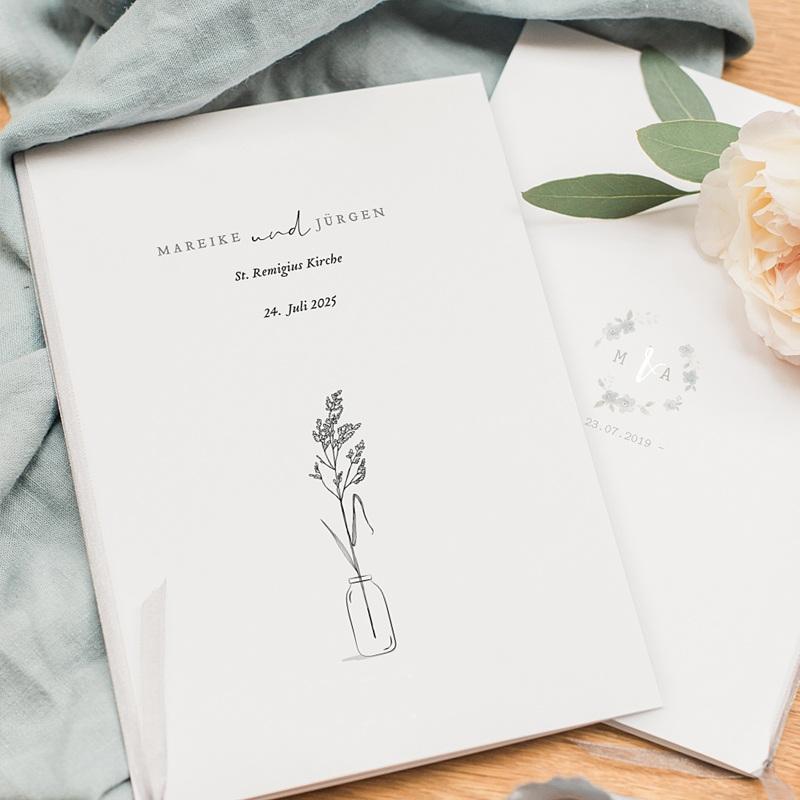 Kirchenheft Hochzeit Liebeszweig pas cher
