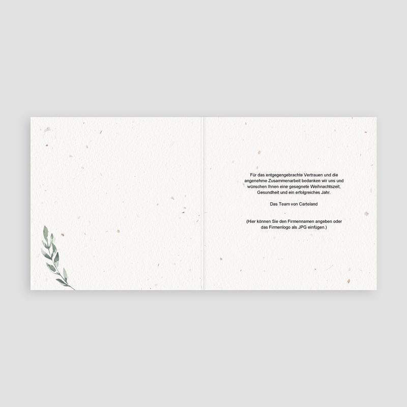 Geschäftliche Weihnachtskarten Tannenzweig Aquarell pas cher