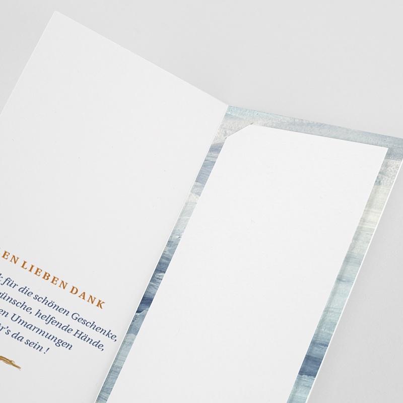 Reisen Dankeskarten Hochzeit am Meer pas cher