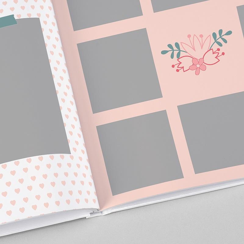 Fotobücher Quadratisch 30 x 30 cm Meine Familie