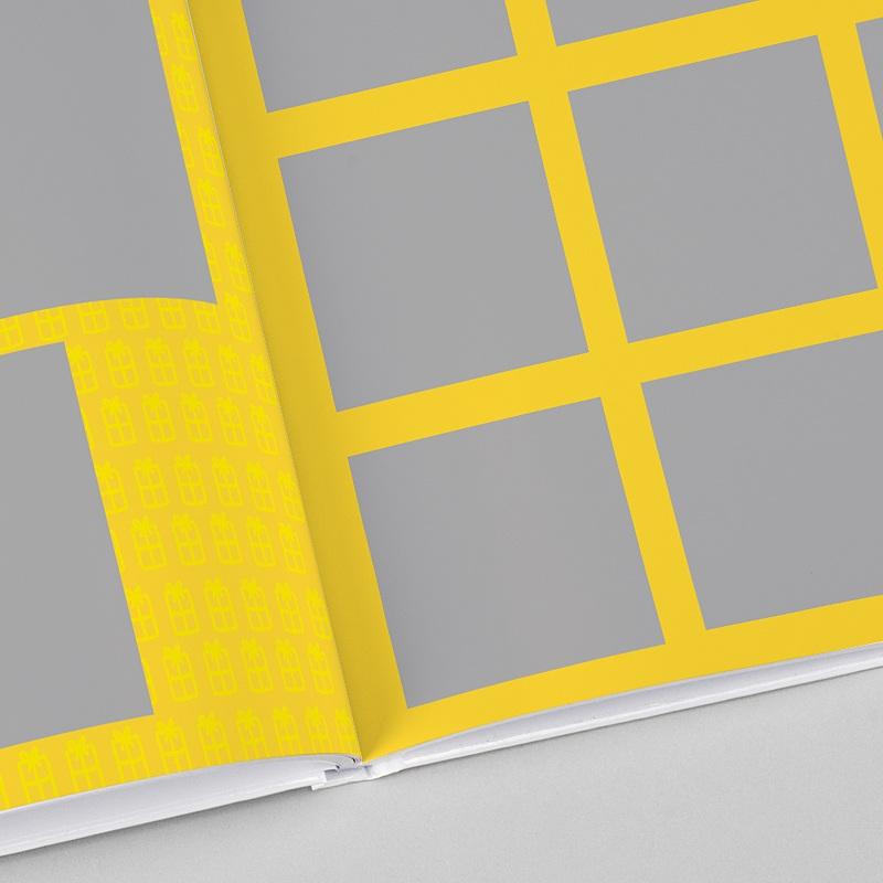 Fotobücher Quadratisch 30 x 30 cm Flashy
