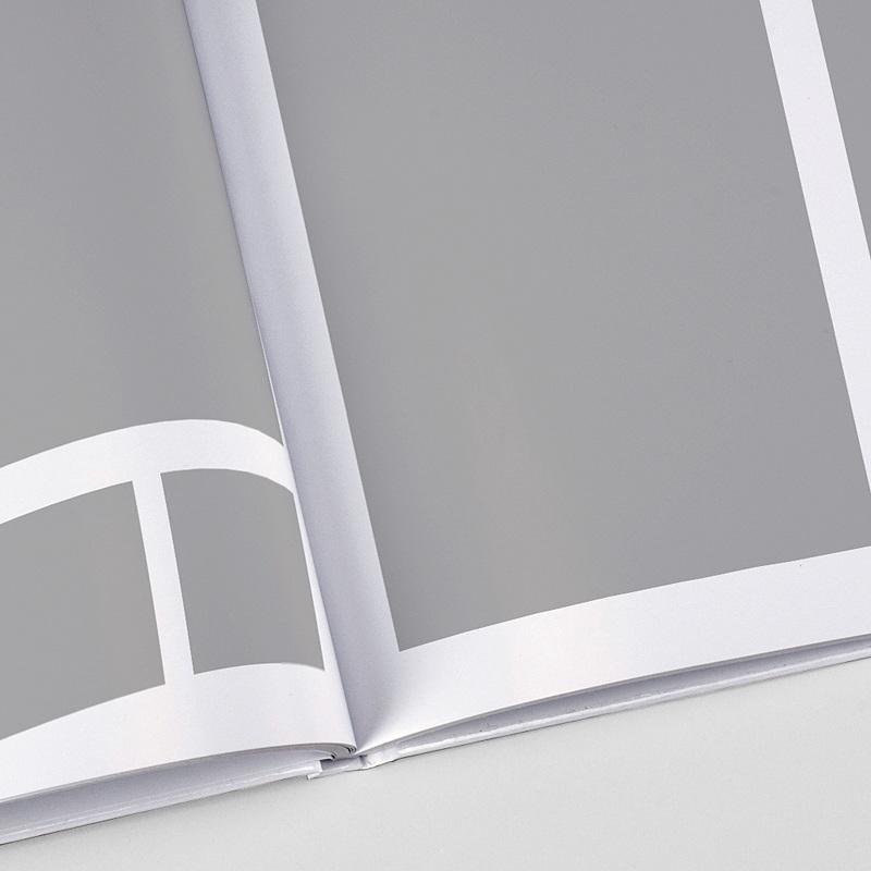 Panorama Fotobücher A4 Querformat Puristisch und Klar
